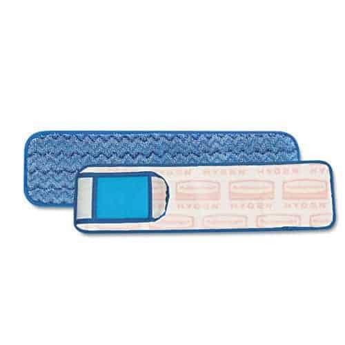 "Tampon en microfibre bleu 18"""