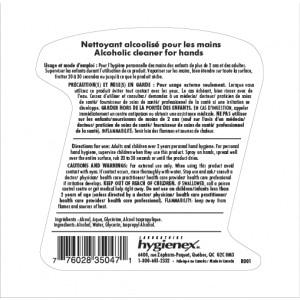 AKTif - Nettoyant pour les mains alcoolisé