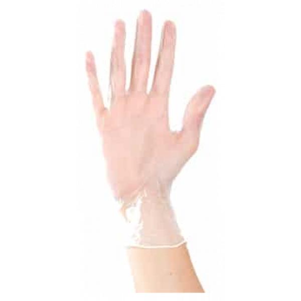 Gants de Vinyle Aurelia® Delight Clear PF®