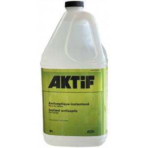 AKTiF - Antiseptique instantané pour les mains - 4L